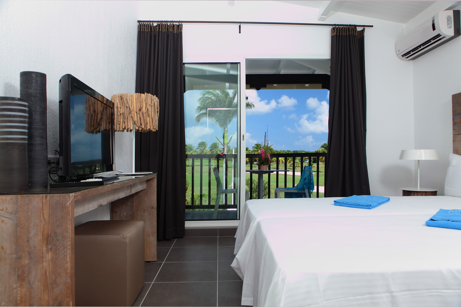 Bwa Chik hotel and Golf, chambre, Hebergement, logement, hotel guadeloupe,  hotel golf, hotel saint francois, sejour antilles, voyage antilles, hebergement antilles, hebergement caraibes, sejour caraibes, voyage caraibes,